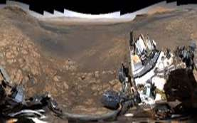 Ini Video Panorama Planet Mars Hasil Rekaman Mobil Robotik NASA, Spektakuler!