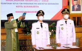 Sah! Putra Sulung Jokowi Gibran Resmi Jabat Wali Kota Solo