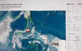 Foto-foto Kerusakan Akibat Gempa 5,0 di Pulau Bacan Halmahera