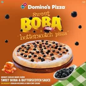 Menikmati Sensasi Manis Gurih Pizza bertoping Boba