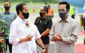 Jokowi Tinjau Vaksinasi Massal dan Resmikan KRL Yogyakarta-Solo