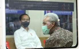 Jajal KRL Yogya - Solo, Ganjar Pranowo Diledek Jokowi