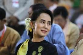 Aung San Suu Kyi Tampil Perdana Sejak Kudeta Militer di Myanmar