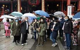 Status Darurat Dicabut, Jumlah Pejalan Kaki di Jepang Meningkat