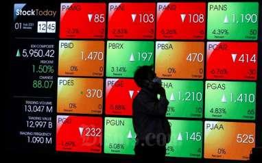 Laju Indeks Bisnis-27 Moncer, Ditopang Saham SMGR hingga ACES