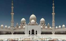 Hadiah Putra Mahkota UEA untuk Jokowi, Ini Penampakan Masjid Mewah Sheikh Zayed