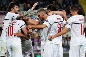 Hasil Liga Italia : Libas Verona, Milan Pangkas Poin dari Inter