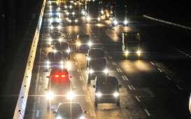 Arus Balik Berlanjut, Contraflow di KM 65 sampai KM 47 menuju Jakarta