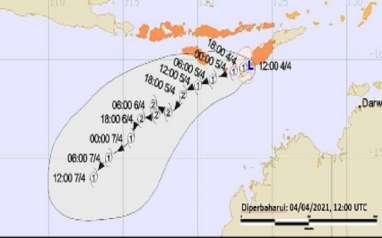 Catat! Efek Siklon Tropis terhadap Cuaca di Indonesia