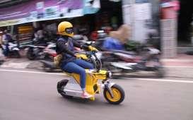 Intip Sepeda Motor Listrik Lokal, Bisa Tempuh Jarak 80 Kilometer
