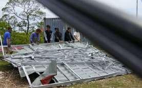Rumah Terdampak Siklon Seroja di NTT Dapat Bantuan Rp50 Juta