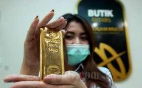 Harga Emas Hari Ini, Senin 12 April 2021, Tertekan Dolar AS
