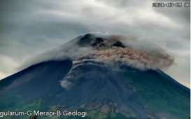 Gunung Merapi Luncurkan Awan Panas Guguran Hingga 1,8 Km