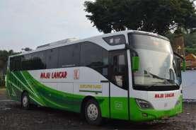 Perusahaan Otobus Maju Lancar Berharap Kompensasi Larangan Mudik