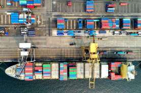 BPS: Neraca Dagang Kuartal I/2021 Surplus US$5,5 Miliar