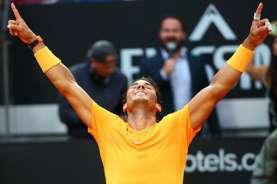 Nadal & Juara Bertahan Fognini Lolos ke 8 Besar Tenis Monte Carlo