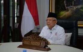 Wapres Ma'ruf Amin Semangati Dokter Jalani Tugas di Tengah Pandemi