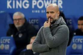 Pelatih Manchester City Pep Guardiola Murka saat Jumpa Pers