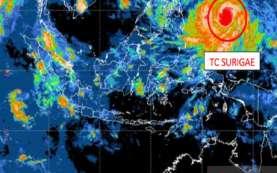 Dampak Siklon Surigae, BMKG: Waspada Gelombang Tinggi di Sejumlah Perairan