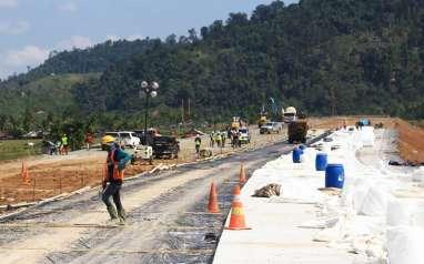 10 Km Lahan Tol Pekanbaru-Bangkinang Belum Dibebaskan, Ini Penyebabnya