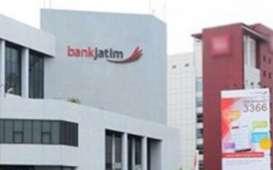 Bank Jatim Cetak Laba Rp448Miliar Sepanjang Kuartal I/2021