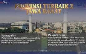 Perencanaan Pembangunan Jabar Terbaik Kedua Nasional