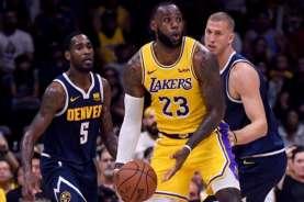 Lakers Berharap LeBron James Bisa Bermain di Playoff NBA