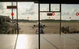 Hari Pertama Larangan Mudik, Bandara Sepi Penumpang