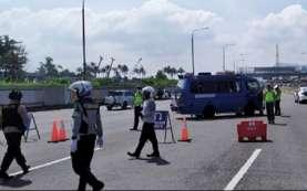 Hari Ketiga Larangan Mudik, Volume Kendaraan Keluar Jakarta Turun 44 Persen