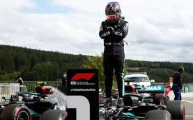 Hamilton Raih Pole Position ke-100 Sepanjang Karier di F1