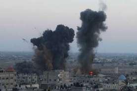 Serangan Udara Israel Tewaskan 20 Orang Termasuk Anak-anak