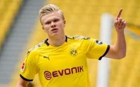 Final Piala Jerman Dortmund vs Leipzig, Haaland Diragukan Tampil