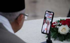 Silaturahmi Virtual dengan Wapres, Jokowi Curhat Tak Ditemani Anaknya