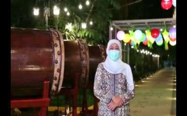 Gubernur Khofifah Minta Warga Antisipasi Klaster Covid-19 Unjung-Unjung