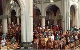 Gereja Katedral Batasi Umat pada Misa Kenaikan Yesus Kristus