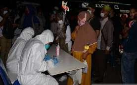 Arus Balik Lebaran, Pemudik Asal Sumatra Wajib Rapid Test Antigen