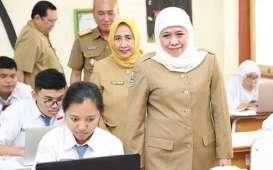 Gubernur Khofifah Minta Sekolah Bentuk Tim Satgas Covid-19 Persiapan Belajar Offline