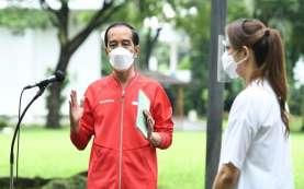 Hari Ini, Jokowi Tinjau Vaksinasi Gotong Royong & Kereta Cepat Jakarta-Bandung