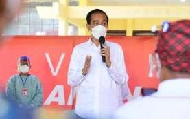 Vaksin Gotong Royong Meluncur, Jokowi Ingin Ekonomi RI Tumbuh 7 Persen