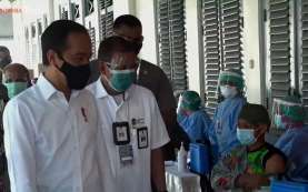Vaksinasi Covid-19 Baru 23 Juta Dosis, Jokowi: Masih Jauh Sekali dari Rencana