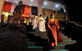 Tak Ada Pelepasan 1.000 Lampion di Borobudur, Perayaan Waisak Disiarkan secara Daring