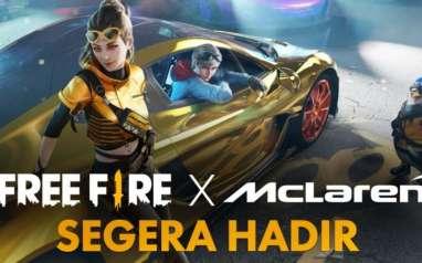 Resmi! Garena Free Fire Umumkan Kolaborasi dengan McLaren Racing