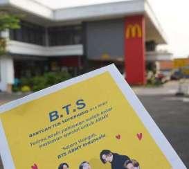 Rela Antri BTS Meal McD, BTS ARMY Donasi Makanan Bagi Ojol