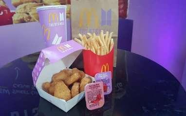 Berwarna Ungu, Bungkus Bekas BTS Meal Laku Dijual Seharga Rp599.000