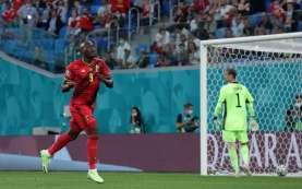 Lukaku Cetak Gol, Hasil Pertandingan Babak Pertama Belgia vs Rusia 2-0
