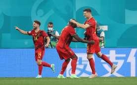 Dua Rekor Euro Tercipta dalam Laga Belgia vs Rusia, Apa Saja?