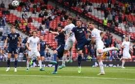 Hasil Babak I Euro 2020 Skotlandia vs Cheska, Skor 0–1