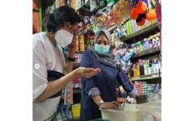 Sri Mulyani Blusukan ke Pasar Santa, Klarifikasi Soal Pajak Sembako