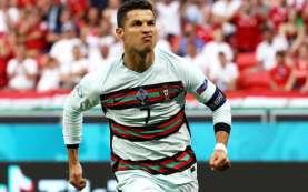Sah! Ronaldo Jadi Pencetak Gol Terbanyak Euro, Bisa Salip Ali Daei?