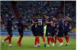 Piala Eropa 2020, Prancis Unggul 1-0 Lawan Jerman, Awas Babak II Berbalik!